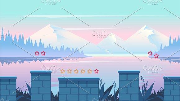 Cartoon Seamless Background
