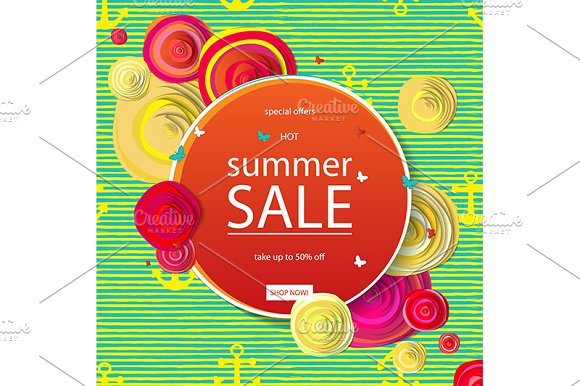 2 Summer Sale Banners