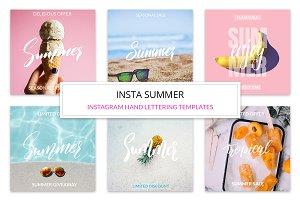 Insta Summer Templates