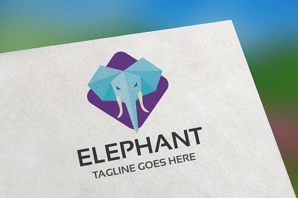 836e37b1a6bcc Elephant Logo ~ Logo Templates ~ Creative Market
