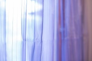 Purple transparent curtain backgroun