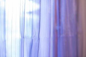 Purple transparent curtain backgroun