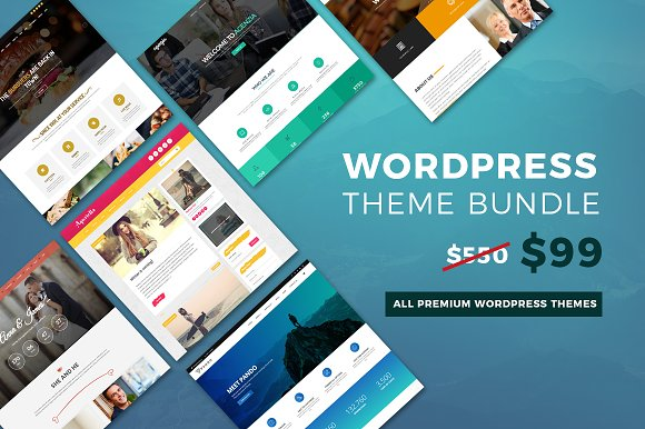 Wordpress Theme Bundle Whole Store