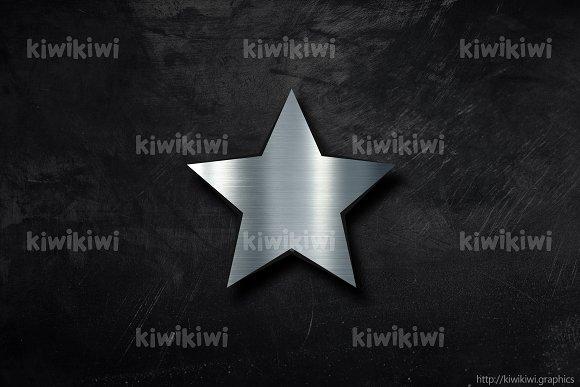Metal Star Background