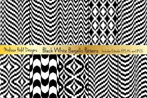 Black  & White Bargello Patterns