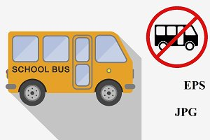 School bus icons