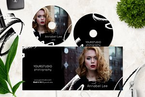Photography CD / DVD Template