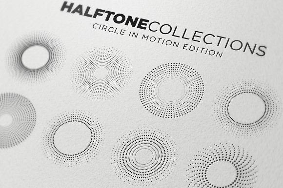 Halftone Collections Design