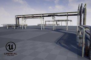 Modular industrial pipeline PBR