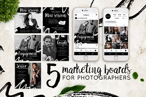 5 Photography Marketing Boards