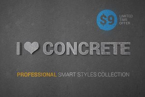 I ♥ Concrete — professional styles