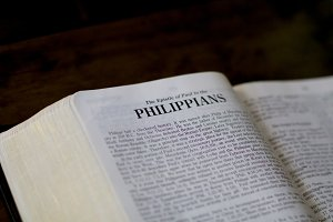 Philippians with room for text