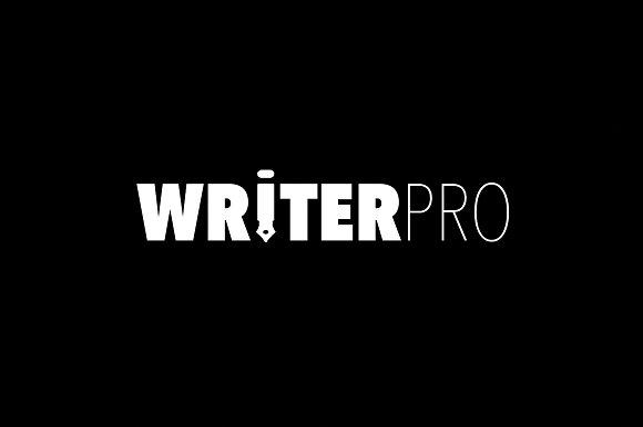 WriterPRO - Premium Blog/Newspaper