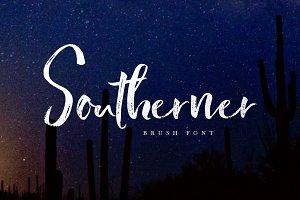 Southerner Brush Script Typeface