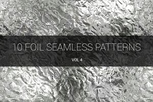 Foil Seamless Patterns (v 4)