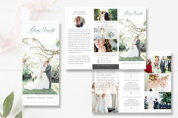 Wedding Photographer Brochure PSD