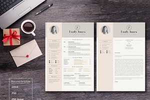 Rusume/CV Cover Letter Template *C