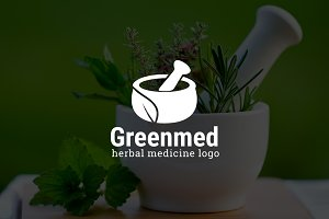 Greenmed : Herbal Medicine Logo