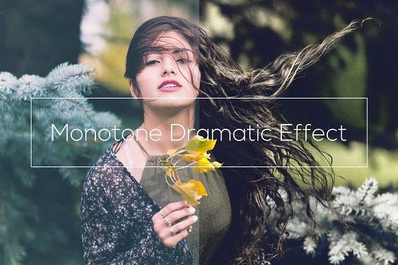 Monotone Dramatic Effect