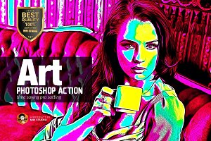 Art Photoshop Action