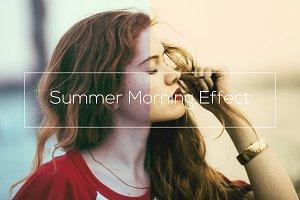 Summer Morning Effect