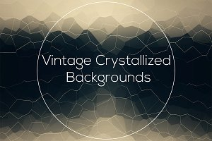 Vintage Crystallized Backgrounds