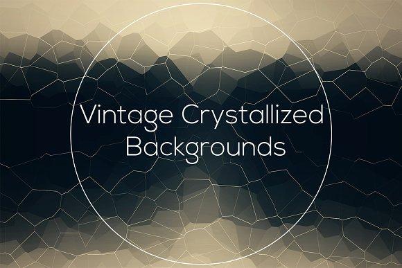 Vintage Crystallized Backgrounds