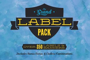 Grand Label Pack + Bonus Badges