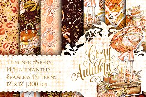 Autumn Fall Fashion Patterns
