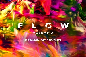 Flow, Vol. 2: 100 fluid paintings
