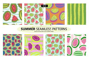 NEW! 8 Summer patterns!