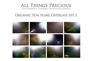 13 Sun Light Flare Overlays