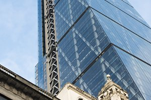 Buildings in city of London