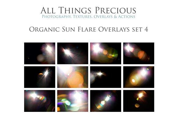 Fine Art Sun Light Flare Overlays