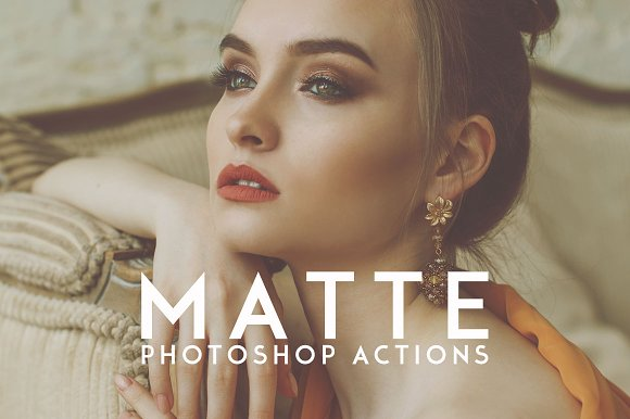 15 Matte Photoshop Actions