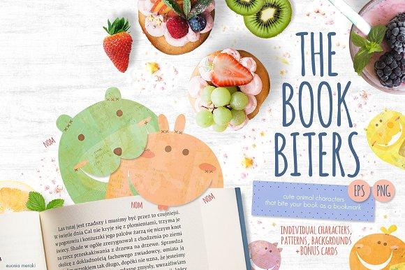 The Book Biters Bonus Cards