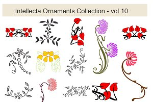 Intellecta Ornaments Collection 10