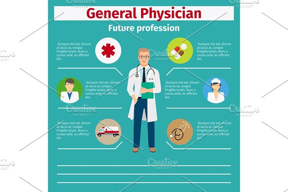 Future Profession General Physician Infographic