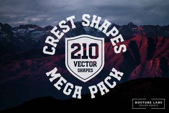Crest Shapes Mega Pack