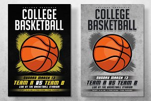 College Basketball Flyer