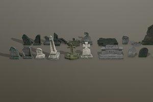 Tombstones PACK PBR