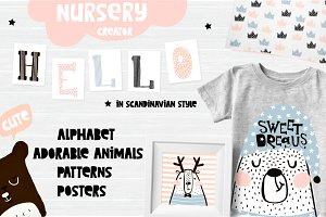 Dreamy nursery creator