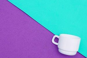 coffee cups. Minimal art