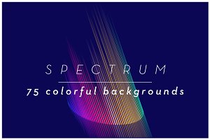 SPECTRUM 1: 75 Colorful backgrounds