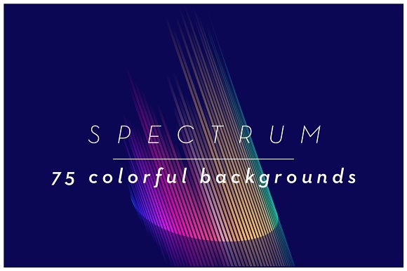 SPECTRUM 1 75 Colorful Backgrounds