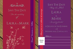 Save the date card 001