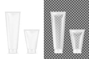 Plastic transparent tube