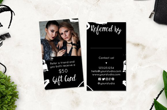 Photography Referral Card