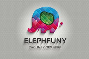 Elephfuny Logo