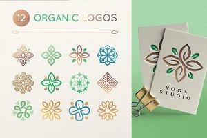 12 Organic logos